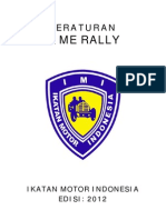 Buku Peraturan Nasional TIME RALLY 2012