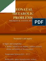 Neonatal Metaboloic Problems