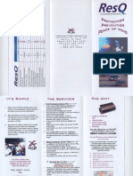 RESQ Brochure - product in IGP business plan