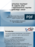 Desensibilizare carboplatin bemutato
