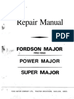 1A Motorkapitlet Diesel Motor Verkstadsmanual