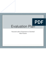 Evaluation Plan - Assured Labor - Kramer