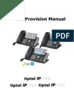 Auto Provision Manual Version 1 2 3