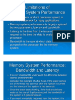 Limitation of Memory Sys Per