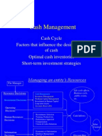Cash Budget Ppt