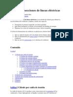 IF Cálculo de secciones de líneas eléctricas 30-05-2011