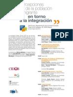 Programa Encuesta Percepciones de la población inmigrante en torno a la integración