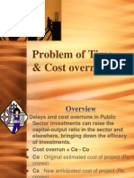 Problem of Time & Cost
