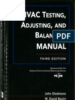 HVAC Testing, Adjusting, And Balancing Manual Third Edition