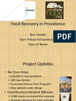 Evaluation Plan - Food Recovery Network - Chesler
