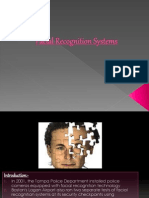 Facial Recognition Systems Ppt