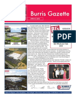 Burris Gazette Spring 2010