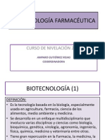 1-BIOTECNOLOGÍA FARMACÉUTICA NIV 2012