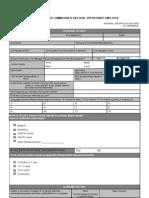 Internal Job Application Form