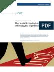 ASSGN 3 How Social Technologies Are Extending the Organization McKinsey Nov2011