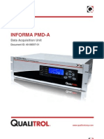 Informa PMD-A User Manual