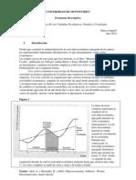 Práctica N° 3 (Conducta clica De Las Variables Economicas. Sentido y Cronología)
