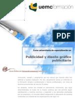 Curso universitario de especialización en Publicidad y diseño gráfico publicitario
