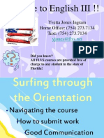 ENG 3 Orientation