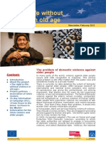 Right to life without violence in old age