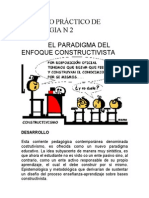 El Paradigma Del Enfoque Constructivista