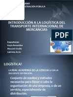 Introduccion a La Logistica Del Transporte Internacional de Mercancia