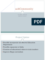 Evaluation Plan - iTeachCommunity - Khoo Leon