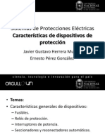Características de dispositivos de protección (Clase IV)