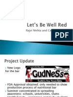 "Evaluation Plan - Let's Be Well ""Red"" - Mehta Pereda"