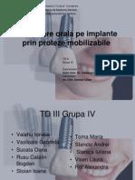are Pe Implant Prin Proteze Mobilizabile
