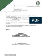 Carta de Terminacion de Practicas Profesionales