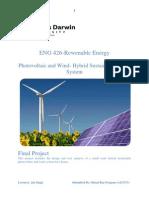 Project Renewable s217173 Bimal Neupane