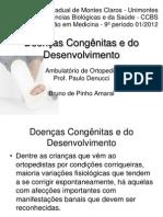 Doenças Congênitas e do Desenvolvimento
