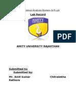 SAS n r lab record