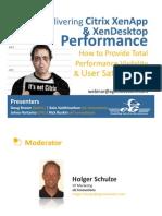 eG Webinar Citrix XenApp Performance 2011