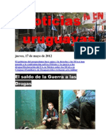 Noticias Uruguayas Jueves 17 de Mayo de 2012