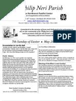 May20th Bulletin