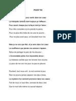 Pour Toi..Document Wordx