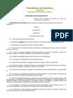 Lei 8906 - Regulamenta o exercício de ADVOGADO