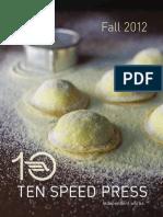Ten Speed Press Fall 2012 Catalog