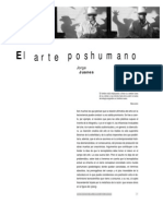 Jorge Juanes - Arte poshumano