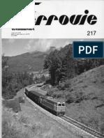 (Modellismo Ferroviario Ferrovie Italmodel n. 217
