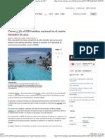 16-05-12 Creció 3.3% el PIB turístico nacional en el cuarto trimestre de 2011