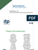 All Optical Networks Presentation - David Payne - 27.09.07