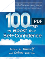 100 Ways to Boost Your Self-Confidence OnlyGill