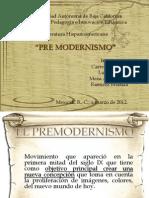 premodernismo