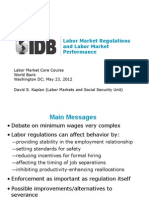 Presentation Kaplan Labor Market Core Course