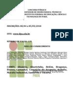 Edital Doc Ifpa 2010
