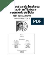 TEST Para El Dolor Neuropatico