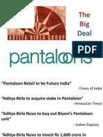 Aditya Birla - Pantaloons Deal